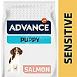 Pienso para cachorros sensitive salmón y arroz Saco 12 kg Advance Affinity
