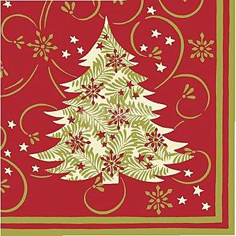 Papstar Servilletas Elegant Tree 3 capas Paquete 20 unidades