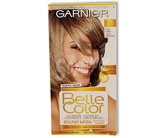Belle Color Garnier Tinte capilar color rubio ceniza nº7.1