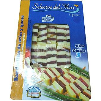 LA HIGUERITA Banderillas de atún y queso Bandeja 10 unidades