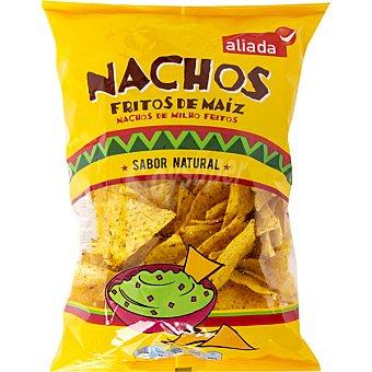 Aliada Nachos de maíz sabor natural Envase 200 g