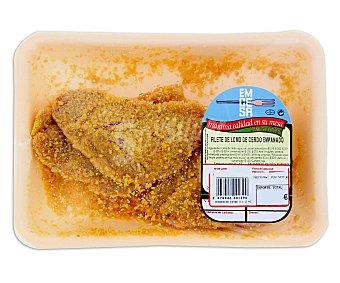 Emcesa Filete de lomo de cerdo empanado 275 Gramos