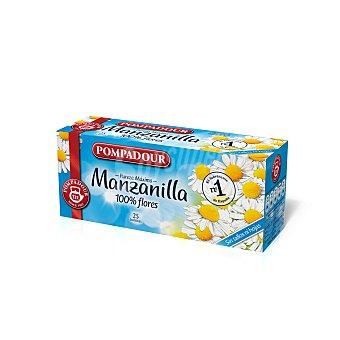 Pompadour Manzanilla  Caja 25 sobres