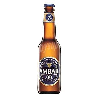 Ambar Cerveza Sin Gluten 0,0 Botella Ambar 33 cl