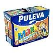Preparado lacteo energia y crecimiento cereales Brick pack 6 x 1 l - 6 l Puleva Max
