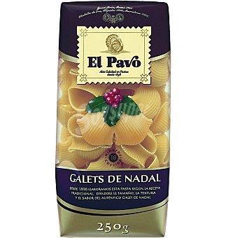 El Pavo Gallina Blanca Pasta huevo galet navidad 250 G
