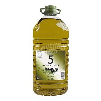 5 Aceitunas Aceite de oliva virgen 5 l
