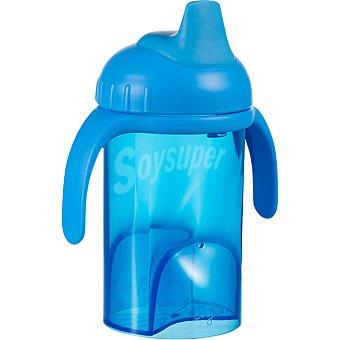 DIFRAX 704 Taza de agua boca blanda en color azul +6 meses 1 Unidad