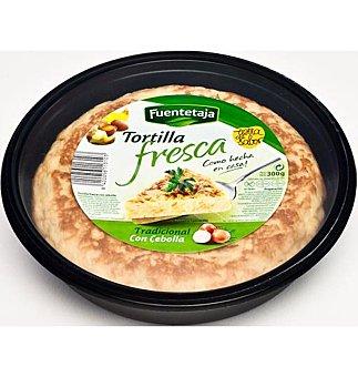 Fuentetaja Tortilla fres.c/cebolla 300 GRS