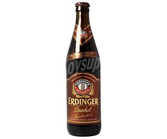 Erdinger Cerveza negra alemana Botella 50 cl