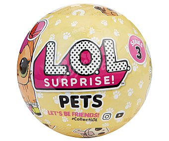 L.O.L. SURPRISE! Pets Bola sorpresa con minimascota y accesorio, Pets surprise!