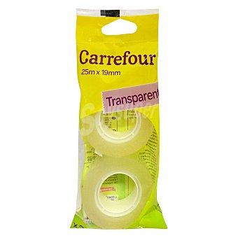 Carrefour Rollos Adhesivos Transparente 25x19mm 2 ud