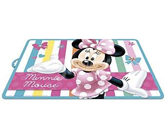 Disney Mantel del plástico con estampado de Minnie Mouse, 120x180 centímetros 1 unidad