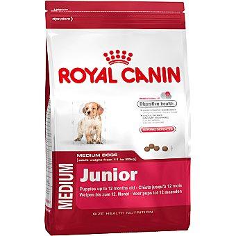 ROYAL CANIN JUNIOR Producto especial para perros de raza medium en fase de crecimiento bolsa 4 kg Bolsa 4 kg