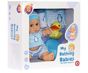 ONE TWO FUN ALCAMPO Bebé con orinal alcampo