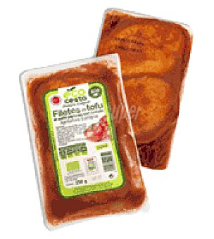 Ecocesta Filete de tofu al estilo japones con tomate bio 250 g