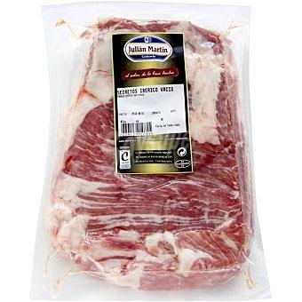 Julian martin Secreto de cerdo iberico fileteado bandeja 450 g peso aproximado Bandeja 450 g