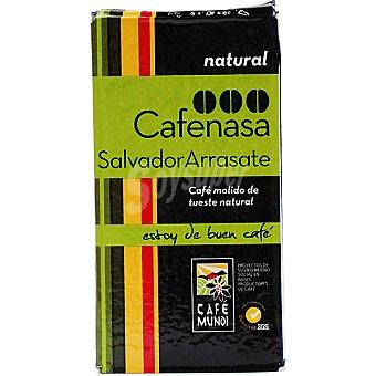 Cafenasa Cafe natural molido Salvador Arrasate paquete 250 g Paquete 250 g
