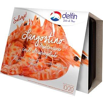 Delfín Langostino mediterraneo cocido 10-20 piezas Caja 300 g neto escurrido