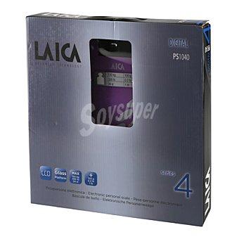 Laica Bascula baño PS1040V lila laica