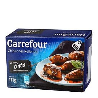 Carrefour Chipirones rellenos en su tinta con aceite de oliva 72 g