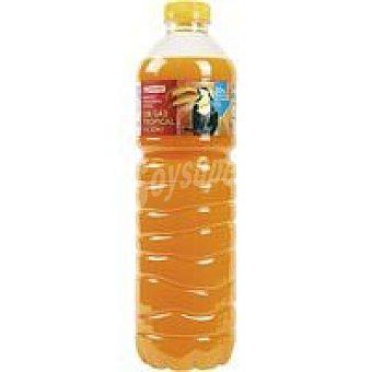 Eroski Refresco tropical sin gas Botella 1,5 litros