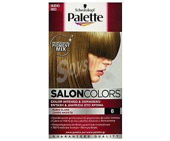 Palette Schwarzkopf Tinte Rubio Claro Nº 8 Salon Colors 1 Unidad