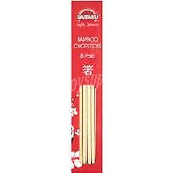 SAITAKU Palillos bambu 65 gr