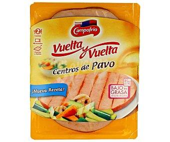 Campofrío Vuelta y vuelta de pavo al horno Bandeja 190 g
