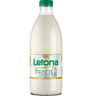 Letona Leche fresca semidesnatada 1 l