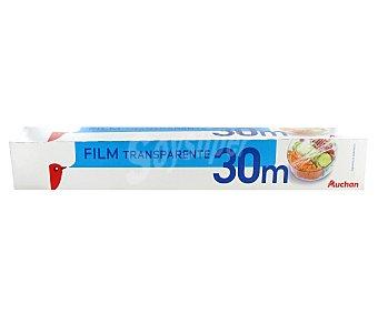 Auchan Film transparente 30 metros, 1 unidad 1u