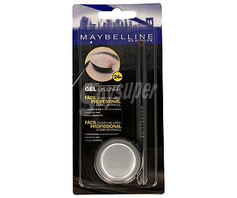 Maybelline New York Eyeliner gel negro (fácil como un lápiz) 1 unidad