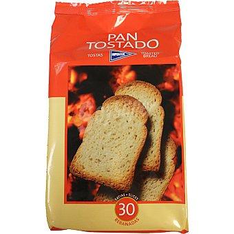 HIPERCOR pan tostado 30 rebanadas paquete 270 g