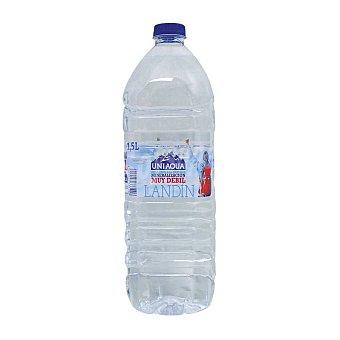 UNIAQUA Agua sin gas uniaqua pet 1,5 l. 1,5 l