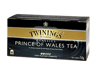 Twinings Té Prince of Wales Caja 25 sobres