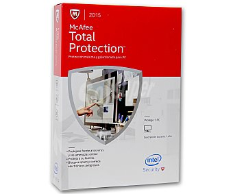 McAfee Total Protection 1Pc 2015 1u
