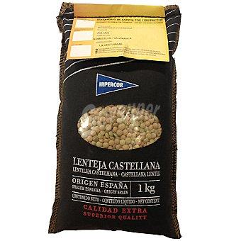 Hipercor Lenteja castellana con dni saco 1 kg Saco 1 kg