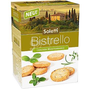 Soletti bistrello Cracker mediterráneo Paquete 75 g