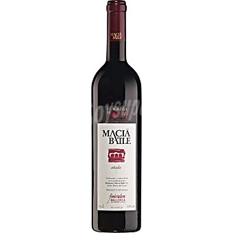 Macía Batle Vino tinto añada D.O. Benissalem Mallorca botella 75 cl Botella 75 cl