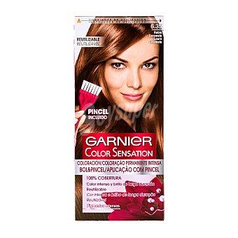 Color Sensation Garnier Tinte rubio carmelo nº 6.35 Caja 1 ud