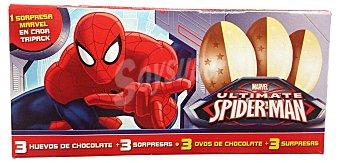 Hacendado Huevo chocolate sorpresa pets Caja 3 u