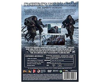 Aventuras El Renacido (The Revenant), 2015, Película en Dvd. Género: aventuras, supervivencia, western. Edad: +16 años