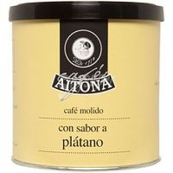 AITONA Café molido aroma plátano lata 100 g