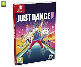 Ubisoft Videojuego Just Dance 2018 para Nintendo Switch. Género: Musical. pegi: +3 Just Dance 2018 Switch