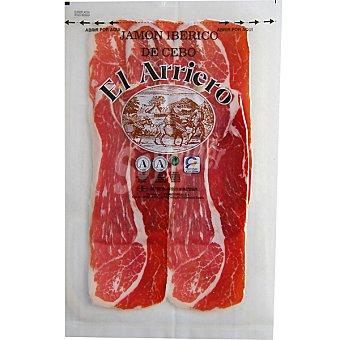 EL ARRIERO jamón ibérico de cebo en lonchas  sobre 120 g