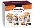 Mini tarrinas de helado de caramelo con distintos sabores collection 4 x 100 ml Häagen-Dazs