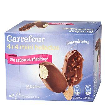 Carrefour Helado mini bombon sin azúcar 8 ud