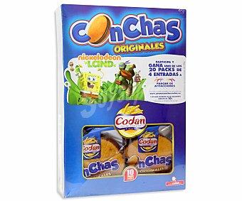 Codan Conchas Paquete de 550g (10 unidades)
