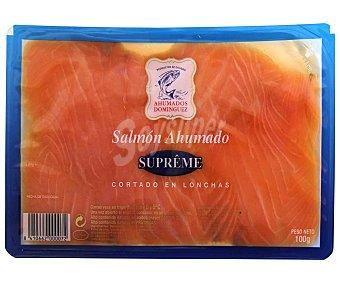 Ahumados Domínguez Salmón ahumado Sobre 100 g