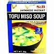 Miso tofú S&B Bandeja 30 g Shiro